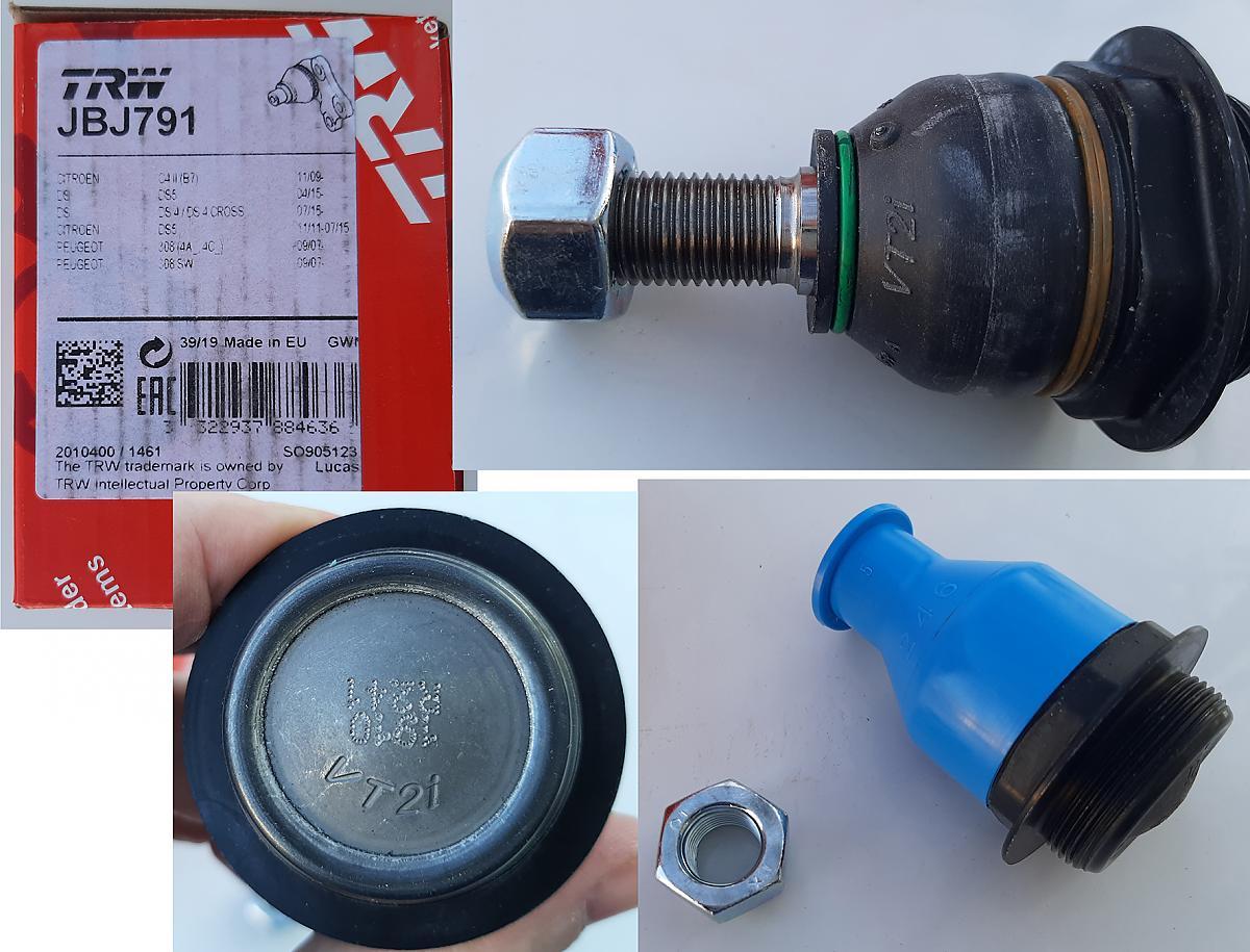 шаровая TRW JBJ791 VT2i